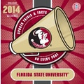 Turner Licensing® Florida State Seminoles 2014 Box Calendar, 5 1/4in. x 5 1/4in.