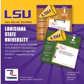 Turner Licensing® LSU Tigers 2014 Box Calendar, 5 1/4in. x 5 1/4in.