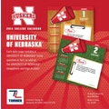 Turner Licensing® Nebraska Cornhuskers 2014 Box Calendar, 5 1/4in. x 5 1/4in.