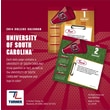 Turner Licensing® South Carolina 2014 Box Calendar, 5 1/4in. x 5 1/4in.