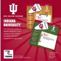Turner Licensing® Indian Hoosiers 2014 Box Calendar, 5 1/4in. x 5 1/4in.