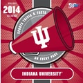 Turner Licensing® Indiana Hoosiers 2014 Box Calendar, 5 1/4in. x 5 1/4in.