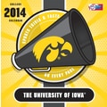 Turner Licensing® Iowa Hawkeyes 2014 Box Calendar, 5 1/4in. x 5 1/4in.