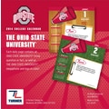 Turner Licensing® Ohio State Buckeyes 2014 Box Calendar, 5 1/4in. x 5 1/4in.