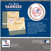 Turner Licensing® New York Yankees 2014 Box Calendar, 5 1/4 x 5 1/4
