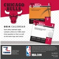 Turner Licensing® Chicago Bulls 2014 Box Calendar, 5 1/4in. x 5 1/4in.