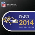 Turner Licensing® Baltimore Ravens 2014 Box Calendar, 5 1/4in. x 5 1/4in.