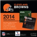 Turner Licensing® Cleveland Browns 2014 Box Calendar, 5 1/4in. x 5 1/4in.