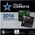Turner Licensing® Dallas Cowboys 2014 Box Calendar, 5 1/4in. x 5 1/4in.