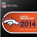Turner Licensing® Denver Broncos 2014 Box Calendar, 5 1/4in. x 5 1/4in.
