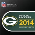 Turner Licensing® Green Bay Packers 2014 Box Calendar, 5 1/4in. x 5 1/4in.