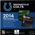 Turner Licensing® Indianapolis Colts 2014 Box Calendar, 5 1/4in. x 5 1/4in.