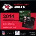 Turner Licensing® Kansas City Chiefs 2014 Box Calendar, 5 1/4in. x 5 1/4in.