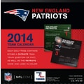 Turner Licensing® New England Patriots 2014 Box Calendar, 5 1/4in. x 5 1/4in.