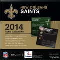 Turner Licensing® New Orleans Saints 2014 Box Calendar, 5 1/4in. x 5 1/4in.