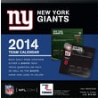 Turner Licensing® New York Giants 2014 Box Calendar, 5 1/4in. x 5 1/4in.