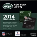 Turner Licensing® New York Jets 2014 Box Calendar, 5 1/4in. x 5 1/4in.