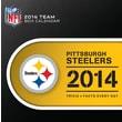 Turner Licensing® Pittsburgh Steelers 2014 Box Calendar, 5 1/4in. x 5 1/4in.