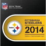 Turner Licensing® Pittsburgh Steelers 2014 Box Calendar, 5 1/4 x 5 1/4