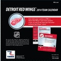 Turner Licensing® Detroit Red Wings 2014 Box Calendar, 5 1/4in. x 5 1/4in.