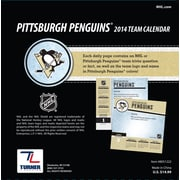 Turner Licensing® Pittsburgh Penguins 2014 Box Calendar, 5 1/4 x 5 1/4
