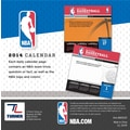 Turner Licensing® NBA All Team 2014 Box Calendar, 5 1/4in. x 5 1/4in.