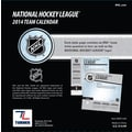 Turner Licensing® NHL All Team 2014 Box Calendar, 5 1/4in. x 5 1/4in.