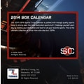 Turner Licensing® ESPN Sports Center 2014 Box Calendar, 5 1/4in. x 5 1/4in.