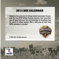 Turner Licensing® ESPN College Gameday 2014 Box Calendar, 5 1/4in. x 5 1/4in.