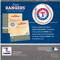 Turner Licensing® Texas Rangers 2014 Box Calendar, 5 1/4in. x 5 1/4in.