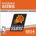 Turner Licensing® Phoenix suns 2014 Box Calendar, 5 1/4in. x 5 1/4in.