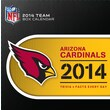 Turner Licensing® Arizona Cardinals 2014 Box Calendar, 5 1/4in. x 5 1/4in.