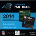 Turner Licensing® Carolina Panthers 2014 Box Calendar, 5 1/4in. x 5 1/4in.