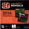 Turner Licensing® Cincinnati Bengals 2014 Box Calendar, 5 1/4in. x 5 1/4in.