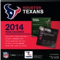 Turner Licensing® Houston Texans 2014 Box Calendar, 5 1/4in. x 5 1/4in.