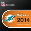 Turner Licensing® Miami Dolphins 2014 Box Calendar, 5 1/4in. x 5 1/4in.