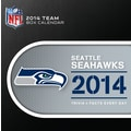 Turner Licensing® Seattle Seahawks 2014 Box Calendar, 5 1/4in. x 5 1/4in.