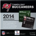 Turner Licensing® Tampa Bay Buccaneers 2014 Box Calendar, 5 1/4in. x 5 1/4in.