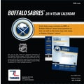 Turner Licensing® Buffalo Sabres 2014 Box Calendar, 5 1/4in. x 5 1/4in.