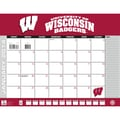 Turner Licensing® Wisconsin Badgers 2014 Desk Calendar, 22in. x 17in.