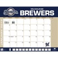 Turner Licensing® Milwaukee Brewers 2014 Desk Calendar, 22in. x 17in.