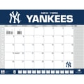 Turner Licensing® New York Yankees 2014 Desk Calendar, 22in. x 17in.