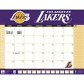 Turner Licensing® Los Angeles Lakers 2014 Desk Calendar, 22in. x 17in.