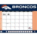 Turner Licensing® Denver Broncos 2014 Desk Calendar, 22in. x 17in.