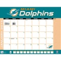 Turner Licensing® Miami Dolphins 2014 Desk Calendar, 22in. x 17in.