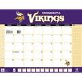 Turner Licensing® Minnesota Vikings 2014 Desk Calendar, 22in. x 17in.