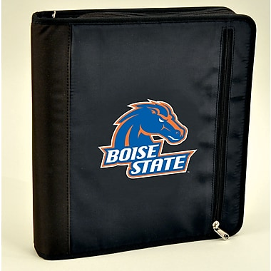 Turner Licensing® Nylon Boise State Broncos Zipper Binder, Black