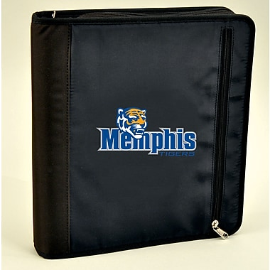 Turner Licensing® Nylon Memphis Tigers Zipper Binder, Black
