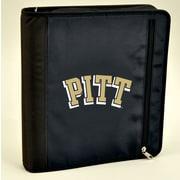 Turner Licensing® Nylon Pittsburgh Panthers Zipper Binder, Black