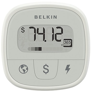 Belkin® 1 Outlet Conserve Insight Electric Monitor With 4' Cord